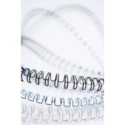 Grzbiety drutowe Fellowes - 36-50 kartek - 8 mm biały