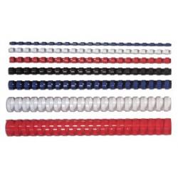 Fellowes Grzbiety plastikowe okrągłe 100szt, 81-100 kartek - 14 mm