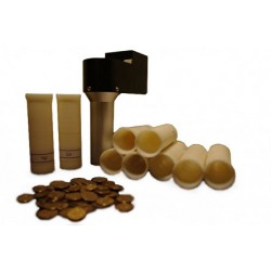 Zestaw do pakowania monet w gilzy papierowe