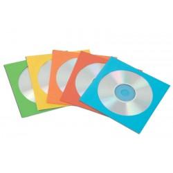 Koperty z okienkiem na płyty CD/DVD 50sz. białe