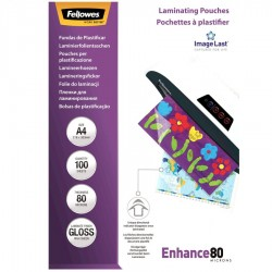 Fellowes folie do laminacji PREMIUM ImageLast™ 80 mik